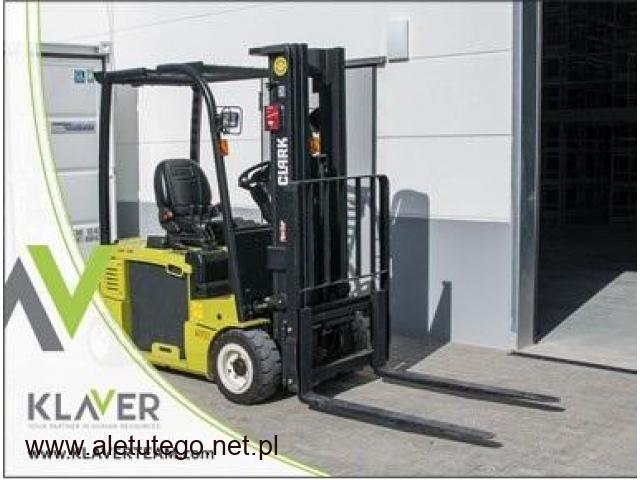 Operator wózka widłowego od zaraz Holandia Tilburg- bonus 200€